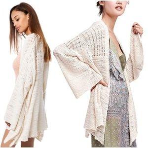 Free People In My Element Kimono Cardigan Sweater